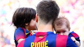 Synek Gerarda Pique to mały sportowiec