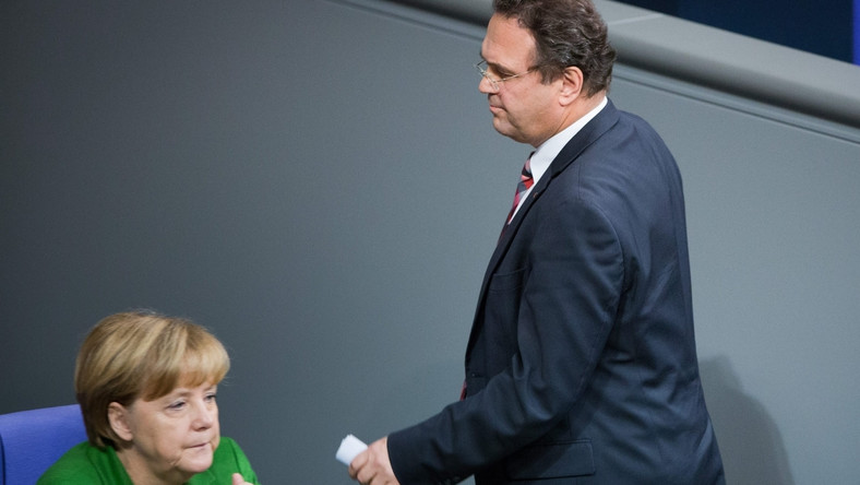 Angela Merkel i Hans-Peter Friedrich