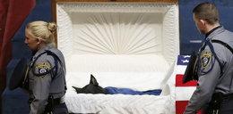 Oto pogrzeb policyjnego psa bohatera