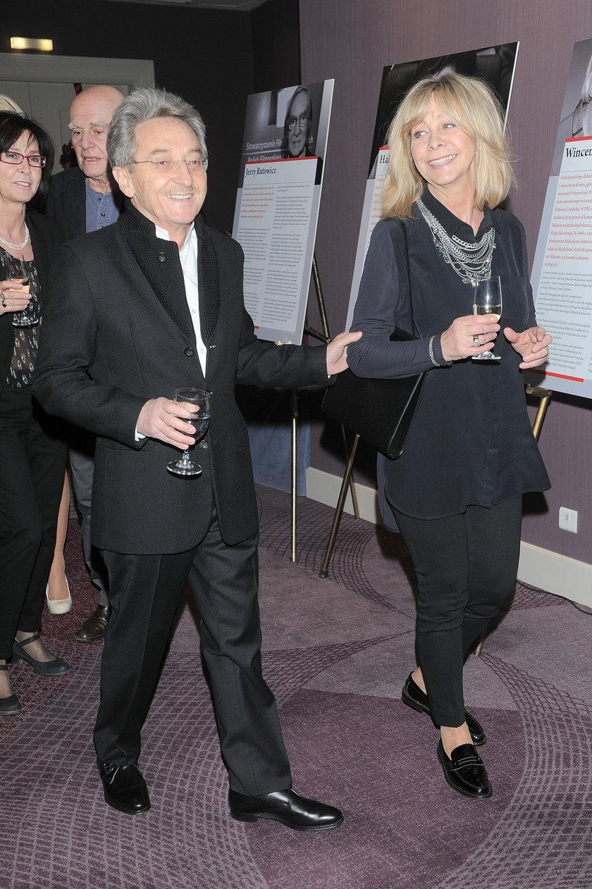 Alan Starsky z żoną