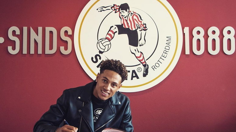 Super Eagles Goalie, Maduka Okoye Joins Sparta Rotterdam On A Two-year Deal (Photos)