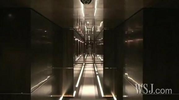 Jahta je toliko prostrana i velika, da je potrebno čak 20 sekundi da bi se prošlo kroz hodnik