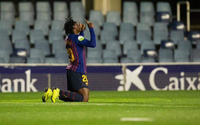 Asisat Oshoala scored again in her second appearance for Barcelona [Barcelona]
