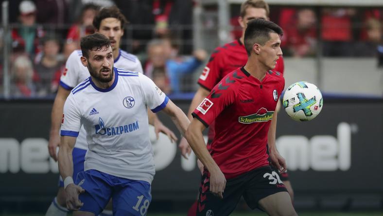 GERMANY SOCCER BUNDESLIGA (SC Freiburg vs FC Schalke 04)