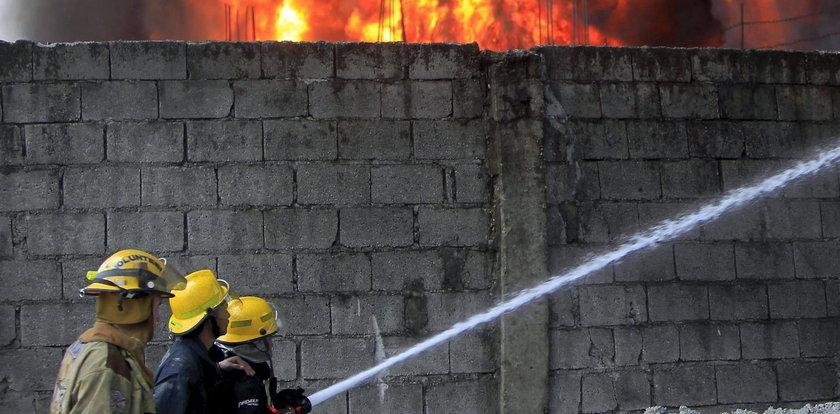 Pożar w centrum handlowym. Co najmniej 37 osób nie żyje
