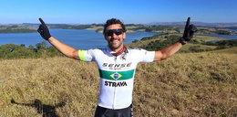 Piłkarz przejedzie 600 km na rowerze. W ten sposób pomaga ubogim dzieciom