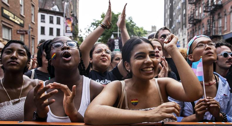 Pride parade: 50 years after Stonewall, a joyous and resolute celebration