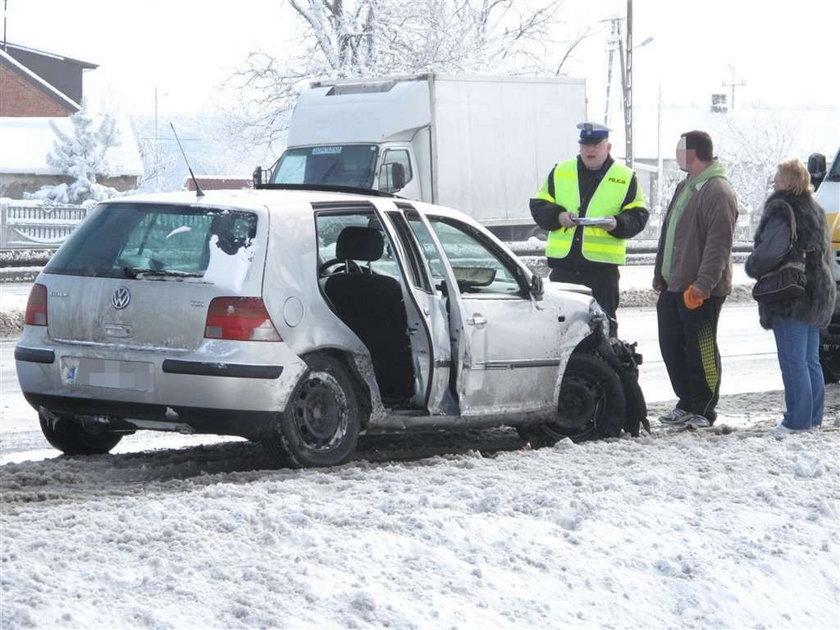 Polska znów pod śniegiem! Jest ciężko!