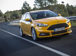 Odświeżony Ford Focus ST – teraz także z dieslem