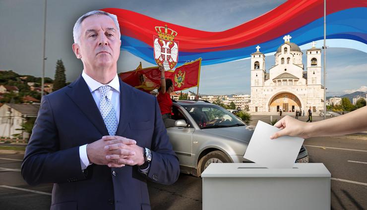 milo djukanovic izbori kombo RAS Anadolija Milos Vujevic Tanjug Shutterstock