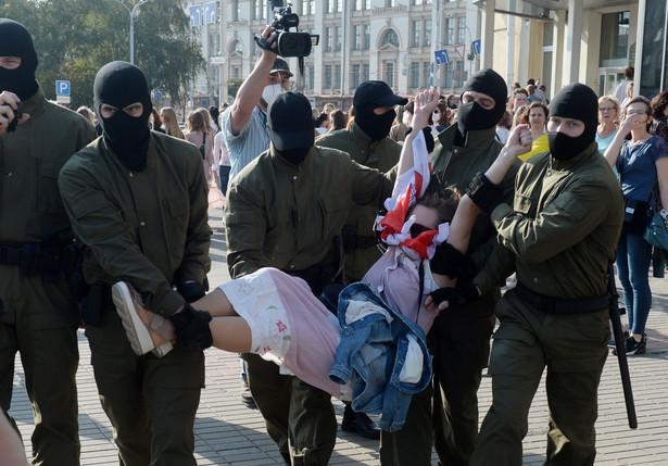 Białoruś - protesty