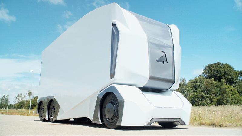 T-Pod - autonomiczna, elektryczna ciężarówka ze Szwecji
