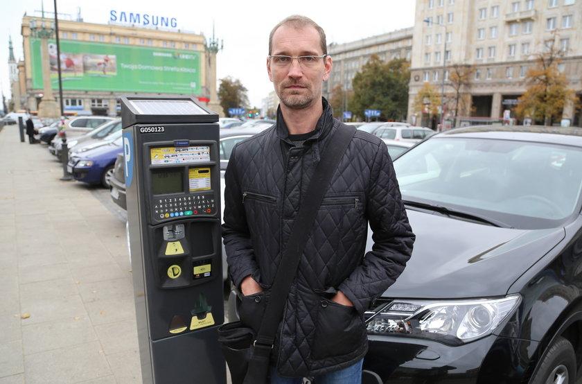 Szymon Klimas (38 l.), kierowca