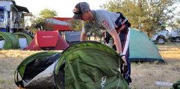 Złożyć namiot na Dakarze? To wielka sztuka