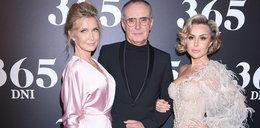 """Konsternacja na premierze """"365 dni"""". Miały takie same sukienki?!"""