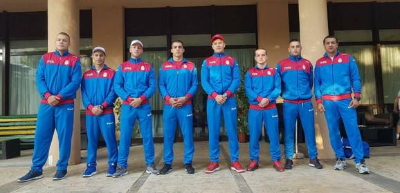 Bokserska reprezentacija Srbije u Bukureštu