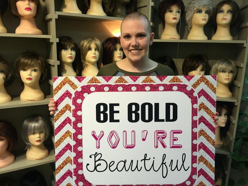 Ashley Moore z Teksasu pokonała raka. Teraz chce pomagać innym