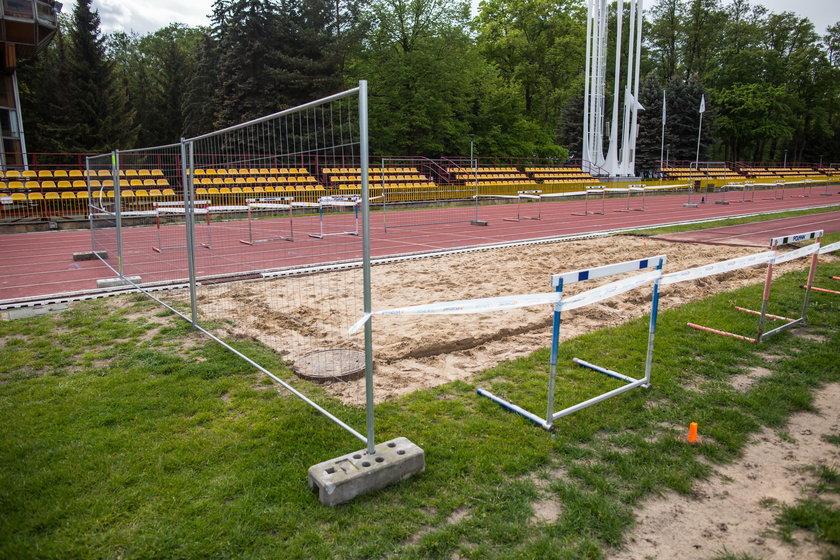 Remontują stadion na Golęcinie