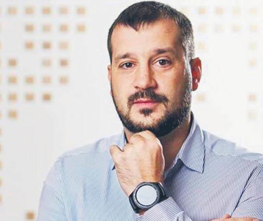 Wiktor Andrusiw, dyrektor wykonawczy Ukraińskiego Instytutu Przyszłości  fot. mat. prasowe