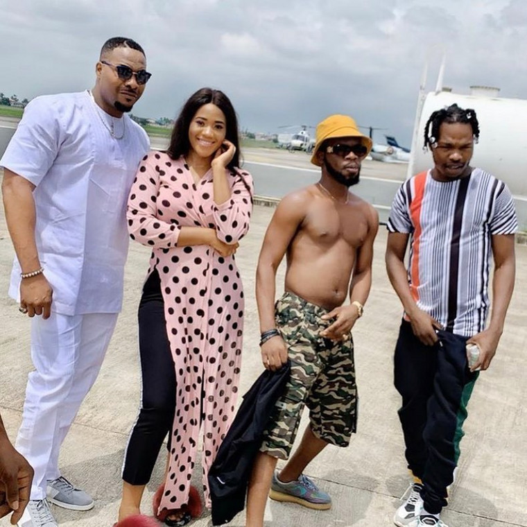Bolanle Ninalowo is one of the main characters in the movie, 'The Enemy I know' alongside Naira Marley. [Instagram/Bolanle Ninalowo]