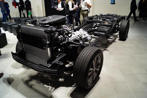 Mercedes Klasy X - budowa
