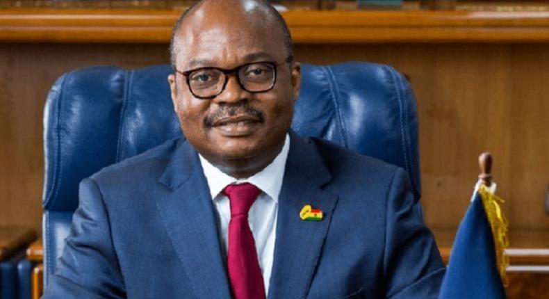 Bank of Ghana Governor, Ernest Addison