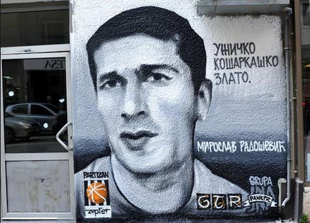 Mural Miroslavu Radoševiću u Užicu