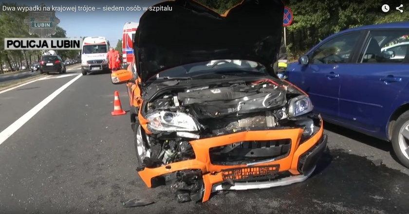 Dwa groźne wypadki