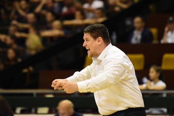 Trener košarkaša Vojvodine Filip Soček