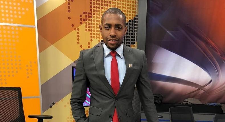 News anchor Samuel Njoroge
