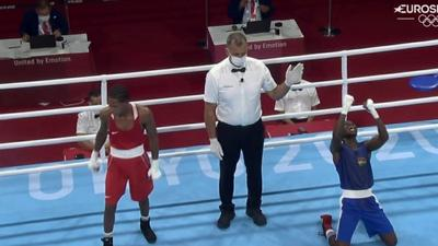 Tokyo 2020: Ghana's Sulemanu Tetteh beats Rosa Rodrigo to reach round of 16 of boxing event
