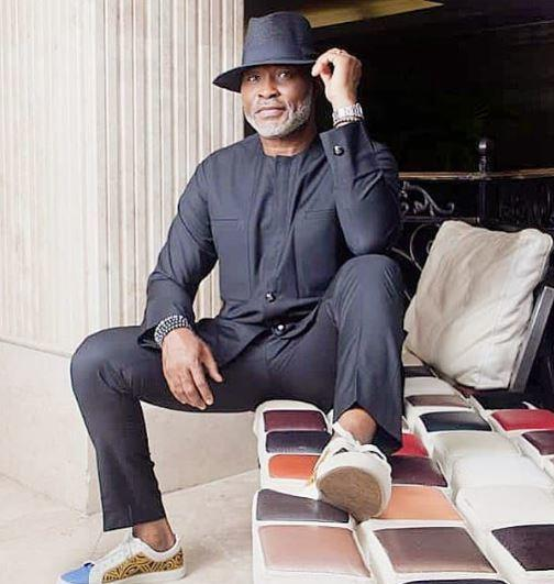 Richard Mofe-Damijo later went on to become a commissioner of culture and tourism in Delta state [Instagram/RichardMofeDamijo]