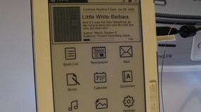 Czytnik e-booków z wygodną klawiaturą