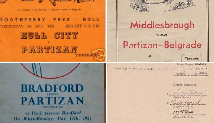 FK Partizan, Festival Britanije 1951