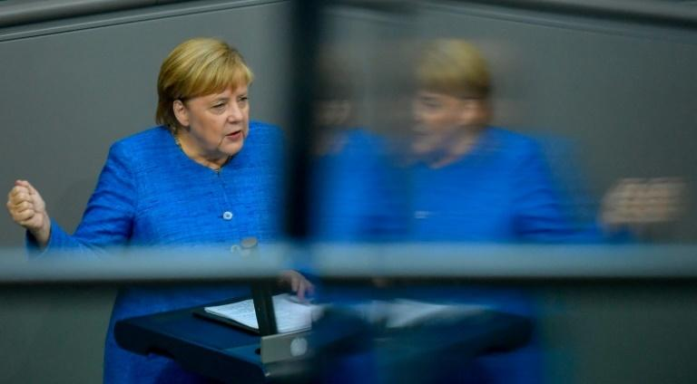 In the event of a no-deal Brexit, German Chancellor Angela Merkel said Berlin was prepared for a disorderly divorce