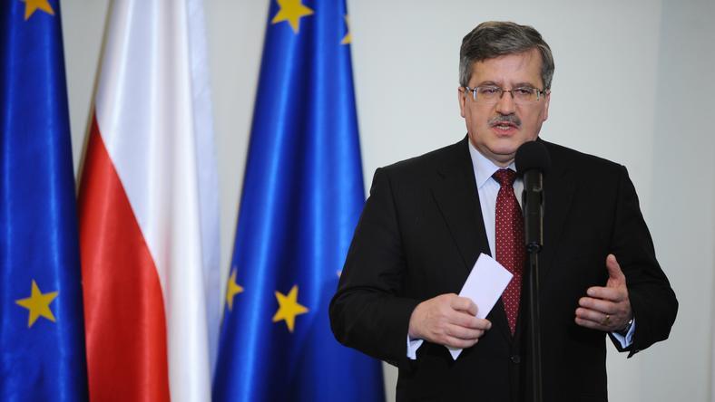 Bronisław Komorowski, fot. PAP/Jacek Turczyk