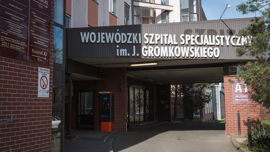 Szpital przy ulicy Koszarowej