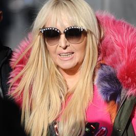 Maryla Rodowicz w kamizelce z różowym futerkiem. Co za stylizacja!