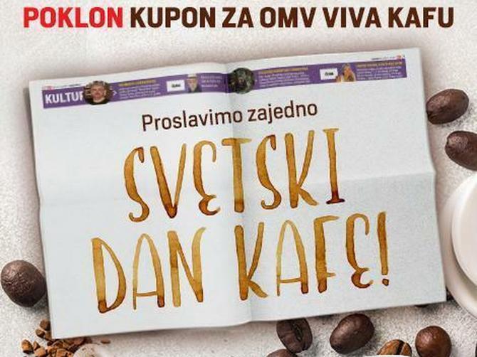 """OMV i """"Blic"""" obeležili Međunarodni dan kafe uz specijalno iznenađenje za čitaoce"""
