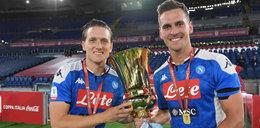 Zieliński i Milik z Pucharem Włoch. Tak sukces świętował Neapol