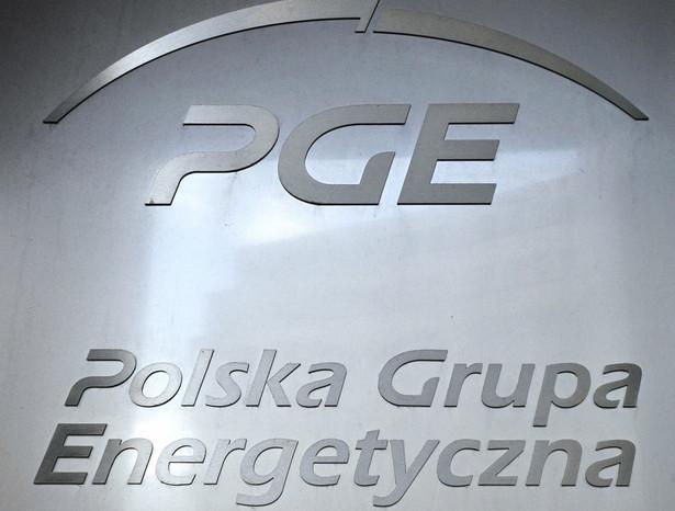 Logo PGE.