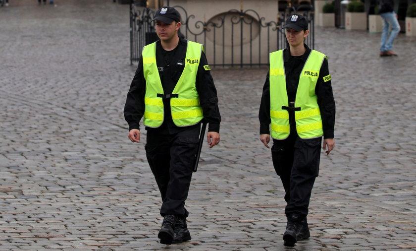Patrol Policji w Poznaniu