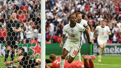 'Fighter' Sterling slaying ghosts of England past at Euro 2020