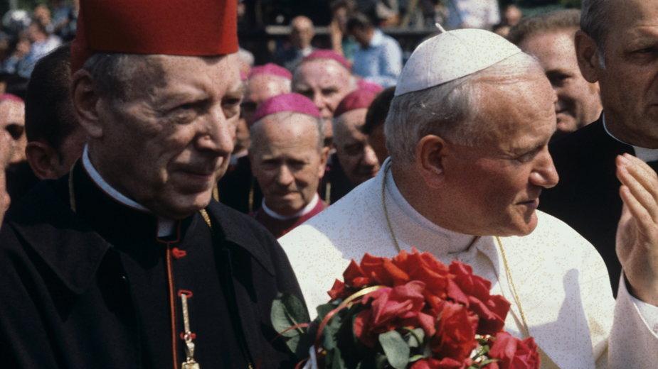 Kard. Stefan Wyszyński i papież Jan Paweł II, Warszawa 1979