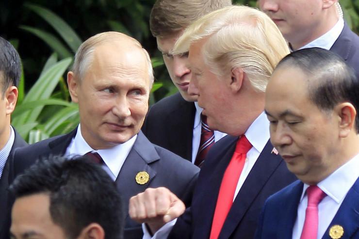Donald Tramp i Vladimir Putin, Sastanak, Vijetnam