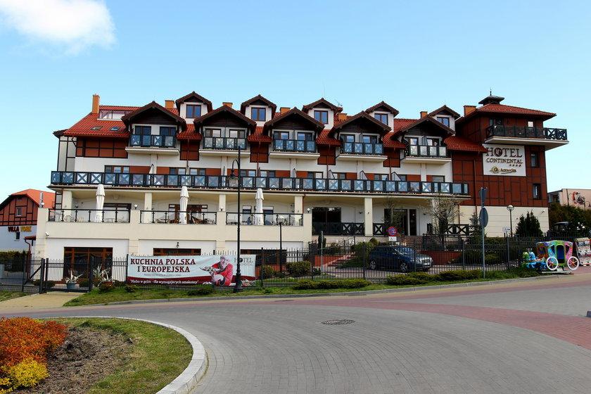 Hotel Continental w Krynicy Morskiej