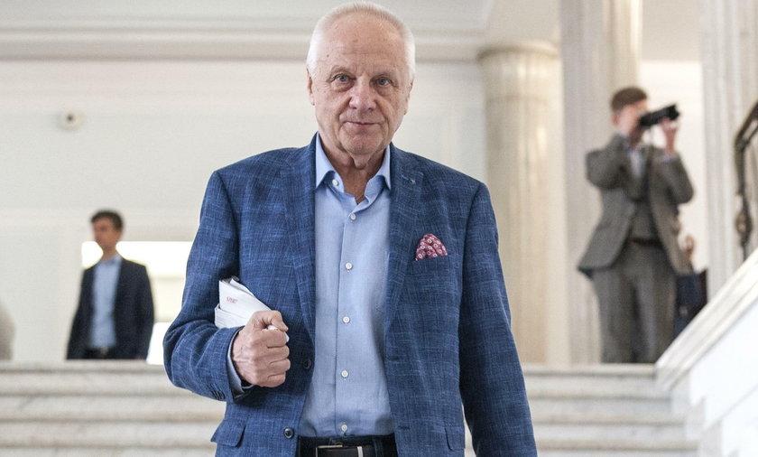 Stefan Niesiołowski, były poseł i działacz opozycyjny w czasach PRL