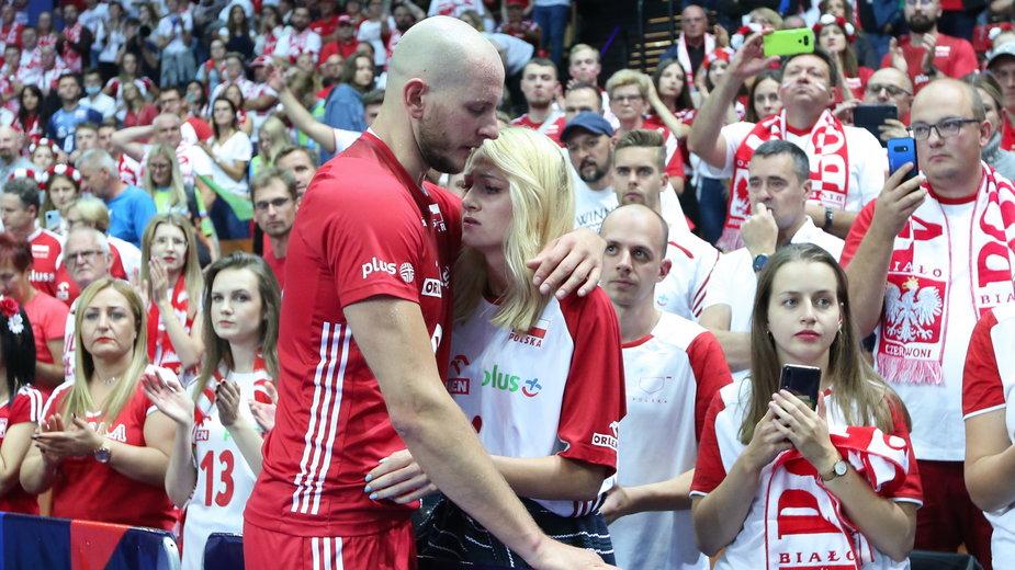 Bartosz Kurek po meczu ze Słowenią