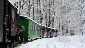 Bieszczady - kolejka leśna będzie jeździć podczas ferii zimowych