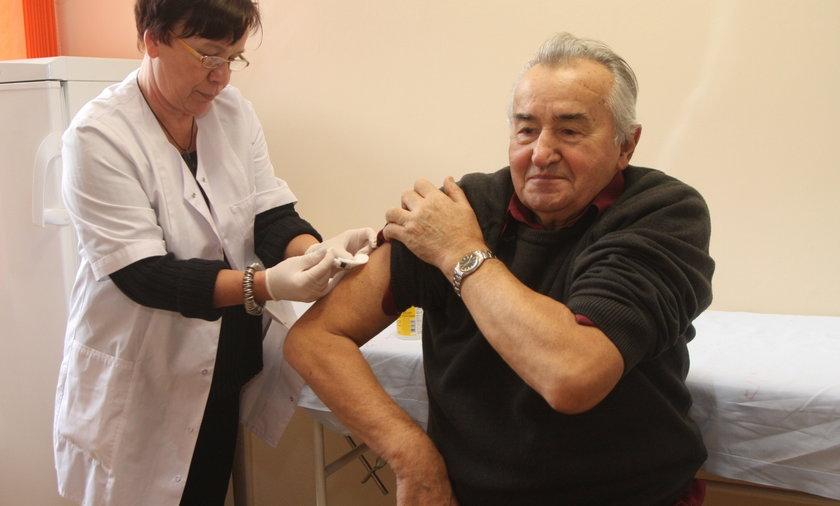 Szczepienia dla seniorów